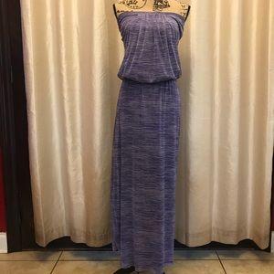 Cynthia Rowley Maxi blue pinstripe design Size XS
